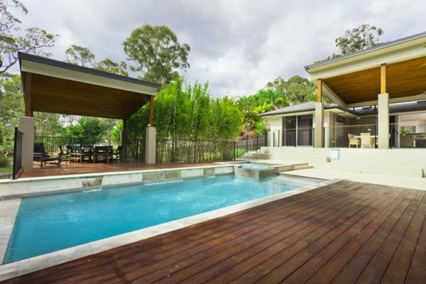 101 Erstaunliche Bilder Von Pool Im Garten