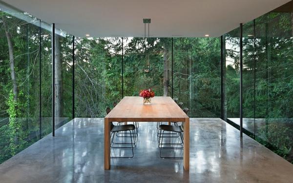 Das moderne Esszimmer  wie sieht es aus