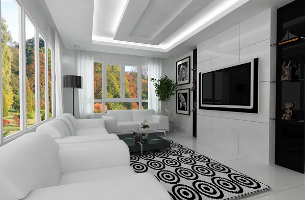 21 hinreiende moderne minimalistische Wohnzimmergestaltung