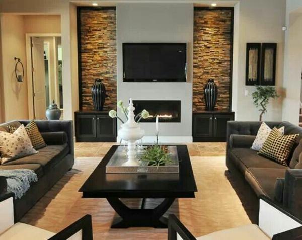 einrichtungsideen wohnzimmer dekoideen wohnung wohnung dekorieren, Esszimmer