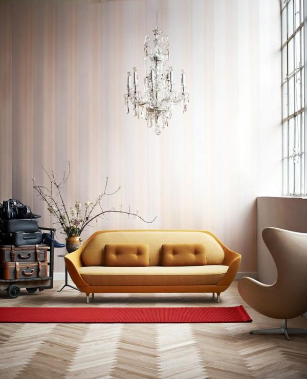 Beispiele fr Wohnzimmereinrichtung  hochmoderne Art Wohnideen