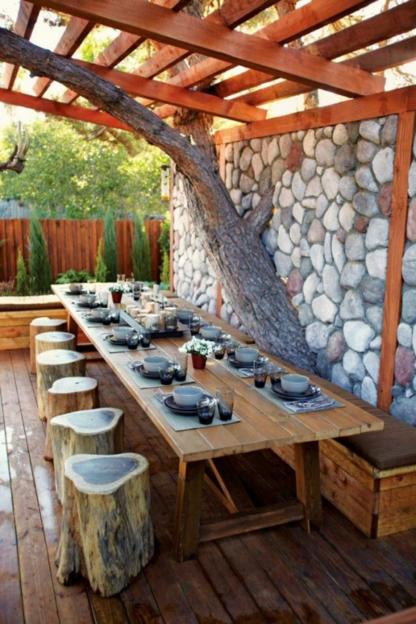 Outdoor Kchenmbel  Genieen Sie das gute Essen in der Gartenkche