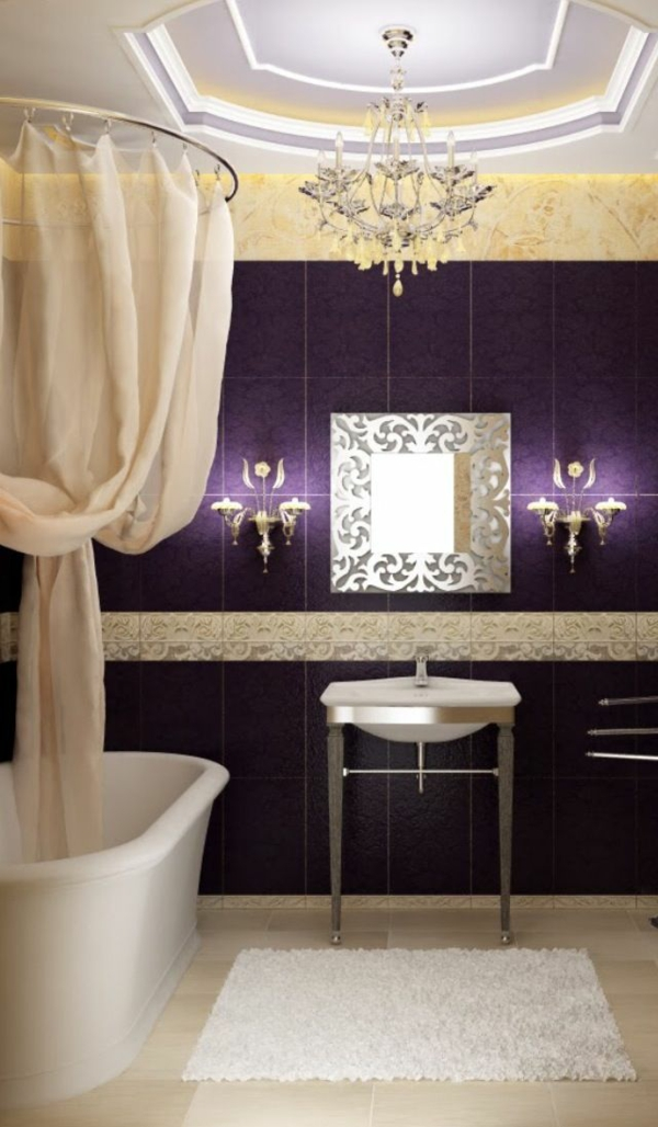 Badvorhnge knnen Ihr Badezimmer vollkommen umwandeln