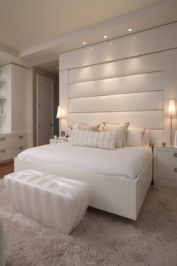schlafzimmer einrichten ideen farben schlafzimmerwand gestalten