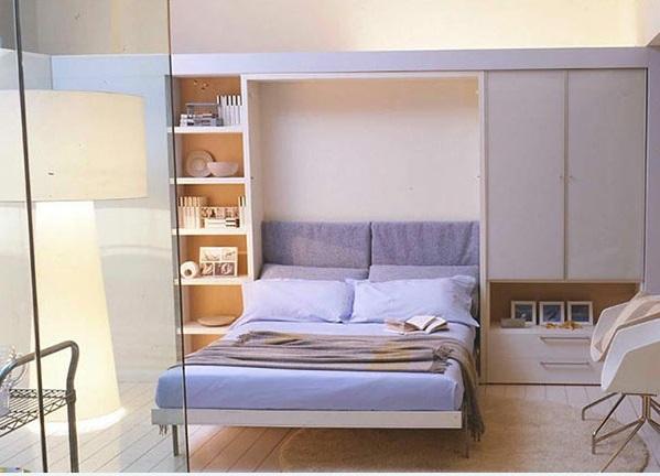 folding bed sofa set modular sydney schrankwand mit klappbett - wohnideen für praktische ...