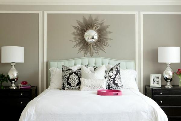 Schlafzimmerwand gestalten  Thematische Wanddeko im Schlafzimmer