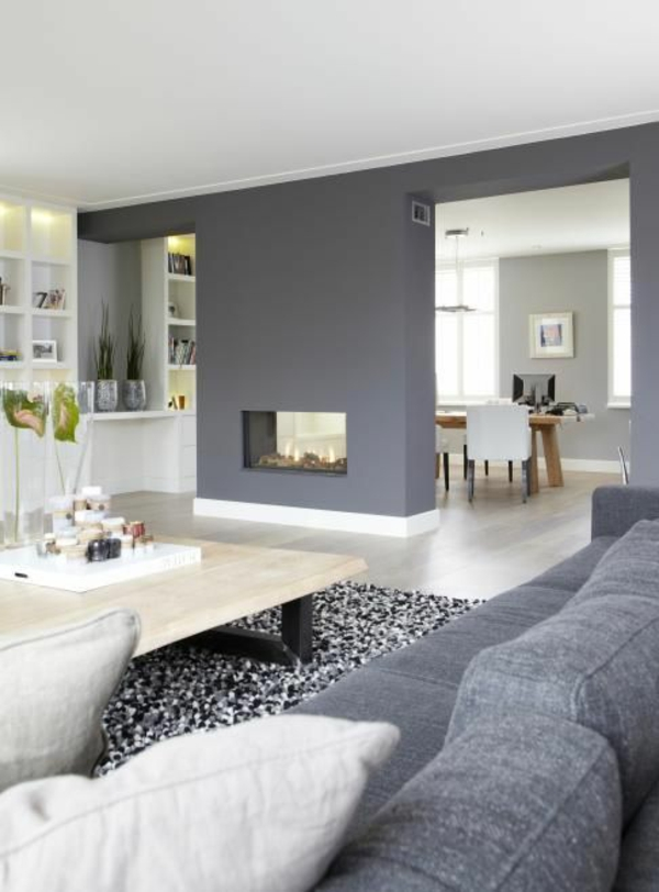 design wohnzimmer farben grau wohnzimmer farbe ziakia com ... - Wohnzimmer Grau Beere