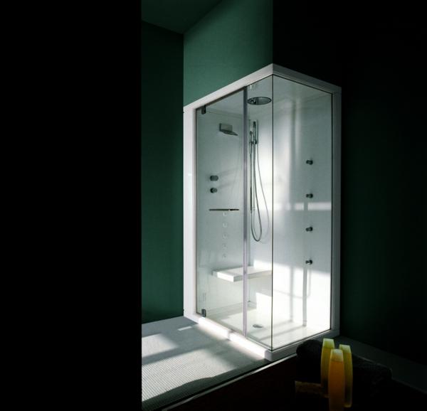 60 Fertigduschkabinen  praktische Komplettsets fr Duschen