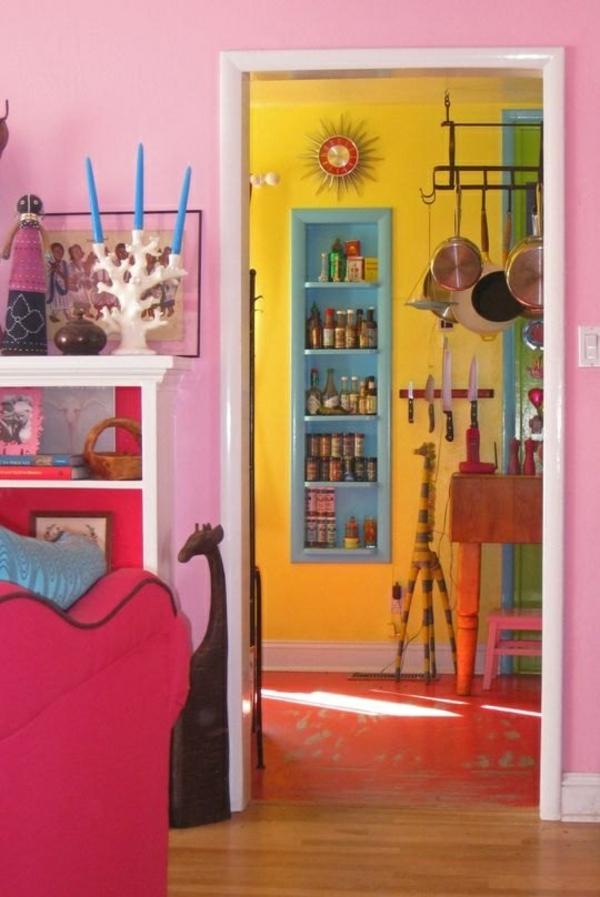 40 Kombinationen von Wandfarben  Malen Sie Ihr Leben bunt