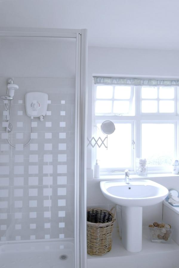 Sichtschutz fr Badfenster  Fensterlden und Fensterdeko