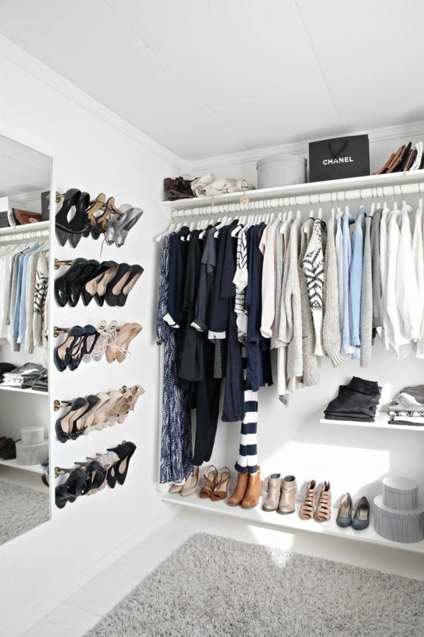Wie knnen Sie einen begehbaren Kleiderschrank selber bauen