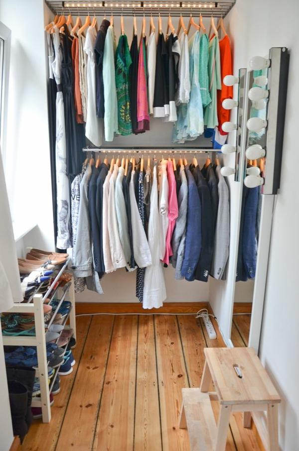 Offener kleiderschrank selber bauen  Begehbarer Kleiderschrank Selber Bauen Im Schlafzimmer | daredevz.com