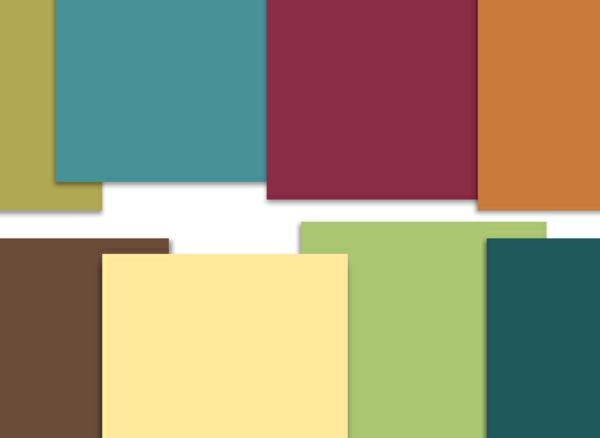 Farbtafel Wandfarbe  Whlen Sie die richtigen Schattierungen