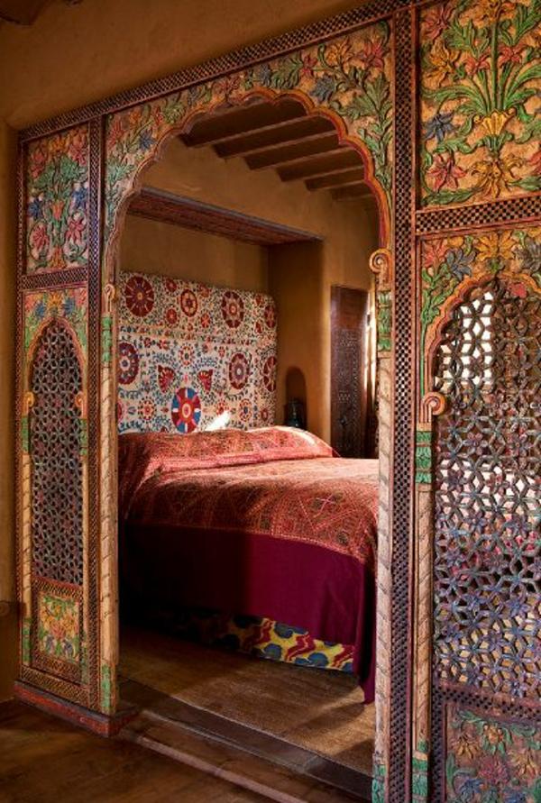 Schlafzimmer Orientalisch Gestalten Wohndesign - Schlafzimmer orientalisch einrichten