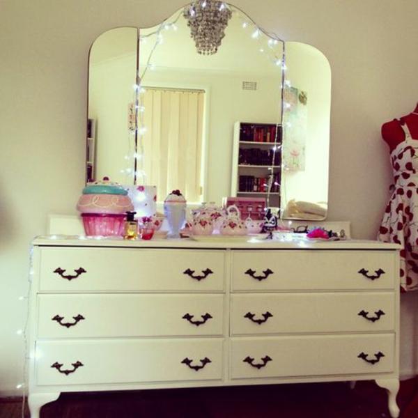 Jugendzimmer Madchen Schminktisch Spiegel