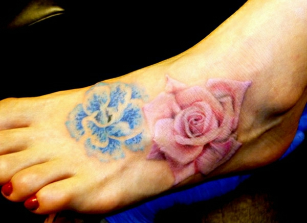 90 Tattoo Fu Ideen  stilvoll im Trend bleiben