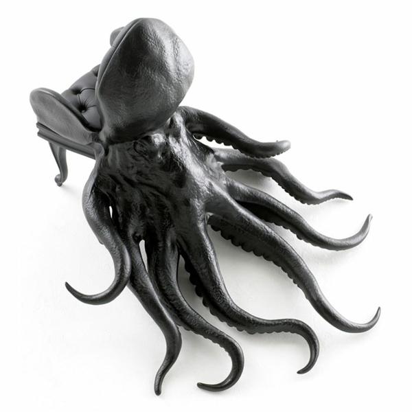 Oktopus Mbel und Art Dekoartikel geben persnlichen Touch
