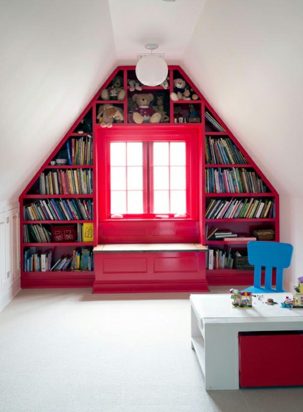 Bcherregale selber bauen  Hausbibliothek in jedem Zimmer