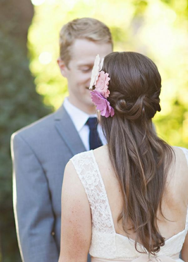 Brautfrisur Halboffen Kommen Sie Mit Stil Unter Die Haube!