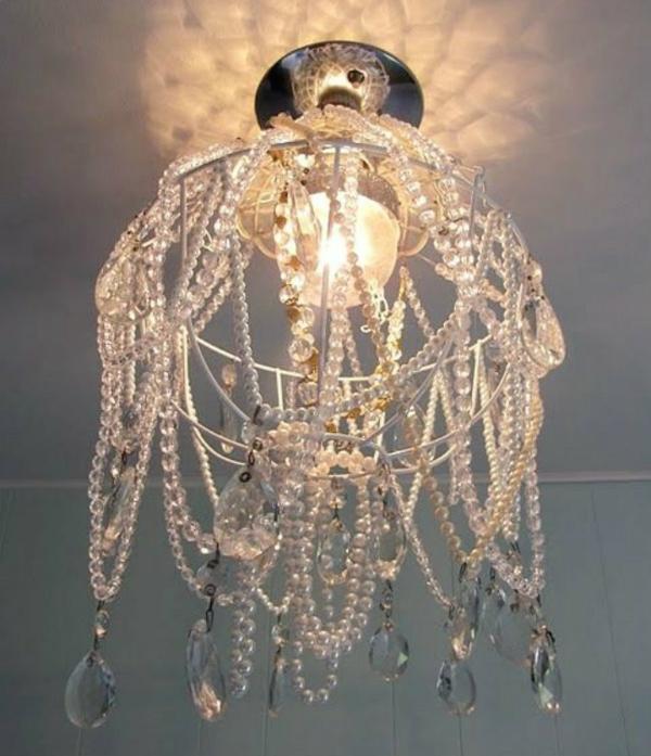 Lampenschirm selber machen  Bastelideen aus Alltagsgegenstnden
