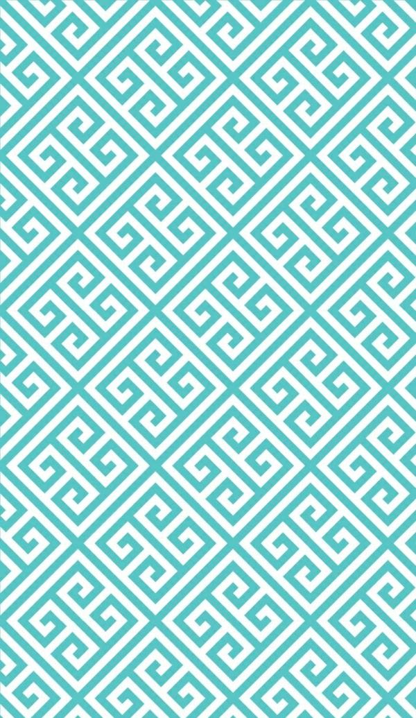 Blaue Tapete  der perfekte Hintegrund in jedem Raum