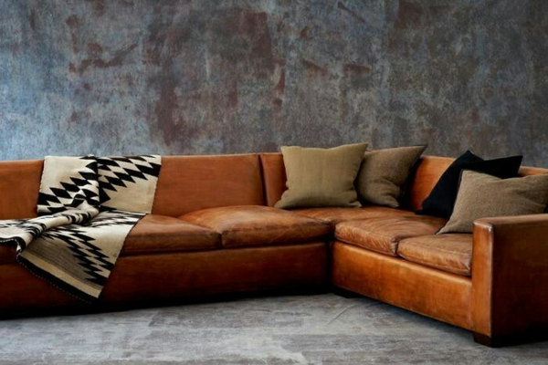 30 Ideen fr Eckcouch aus Leder  Sofas mit und ohne