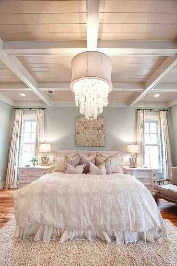 Einrichtungsideen Schlafzimmer  gestalten Sie einen gemtlichen Raum