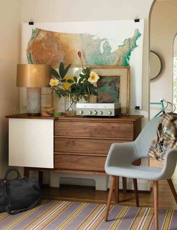 wohnzimmer mobel modern trendy hangelampen - boisholz - Wohnzimmermobel Modern