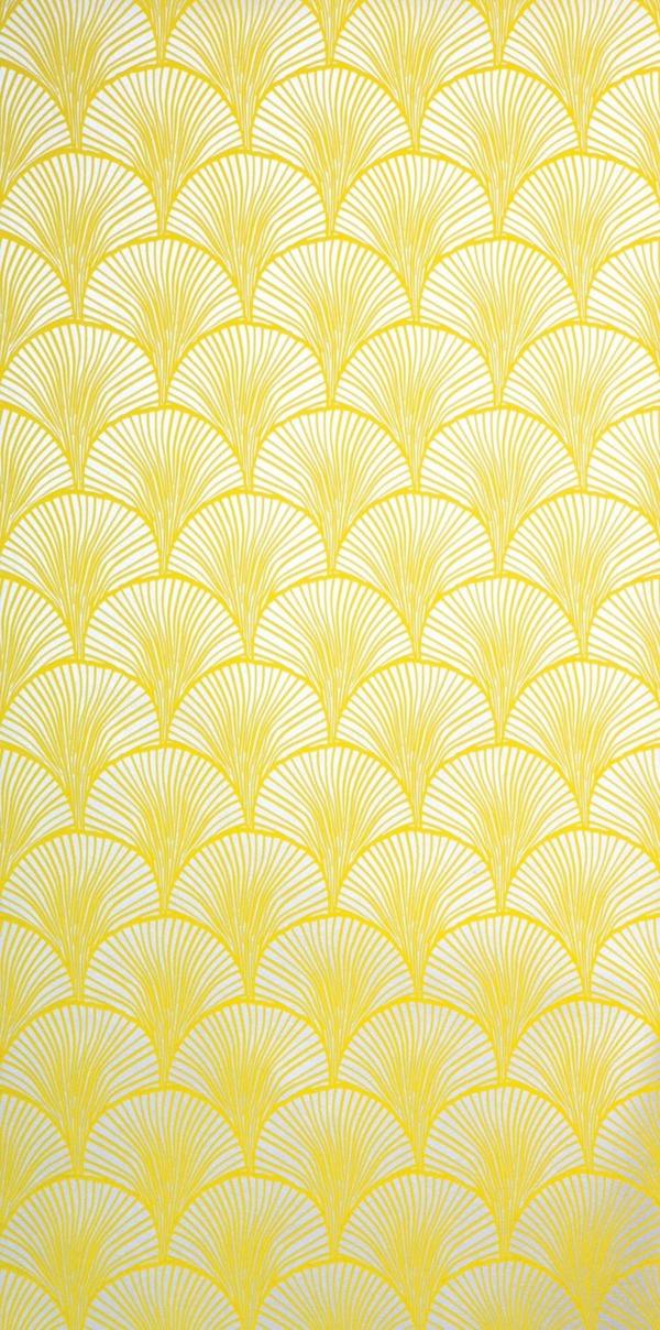 Fall Chevron Wallpaper Eine Gelbe Tapete Im Schlaf Oder Wohnzimmer Wirkt Sehr