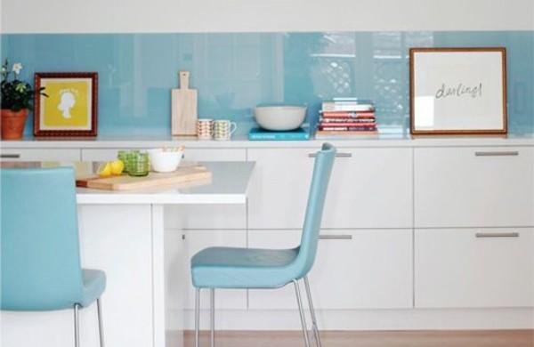 Kchenrckwand  1000 aktuelle Trends fr Ihre Kcheneinrichtung mit Farben und Fliesen
