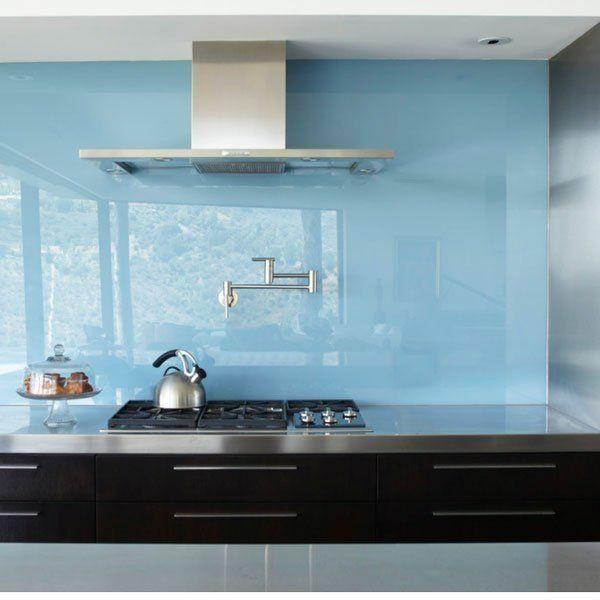 Kchenrckwand aus Glas  der moderne Fliesenspiegel sieht so aus