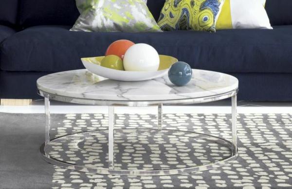 Wohnzimmer Couchtisch Marmor