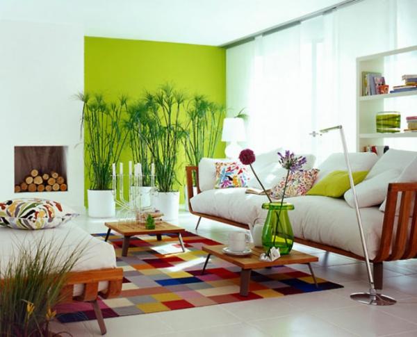 Design Wandgestaltung Wohnzimmer Grun Braun Inspirierende ... Wohnzimmer Grau Grun Braun
