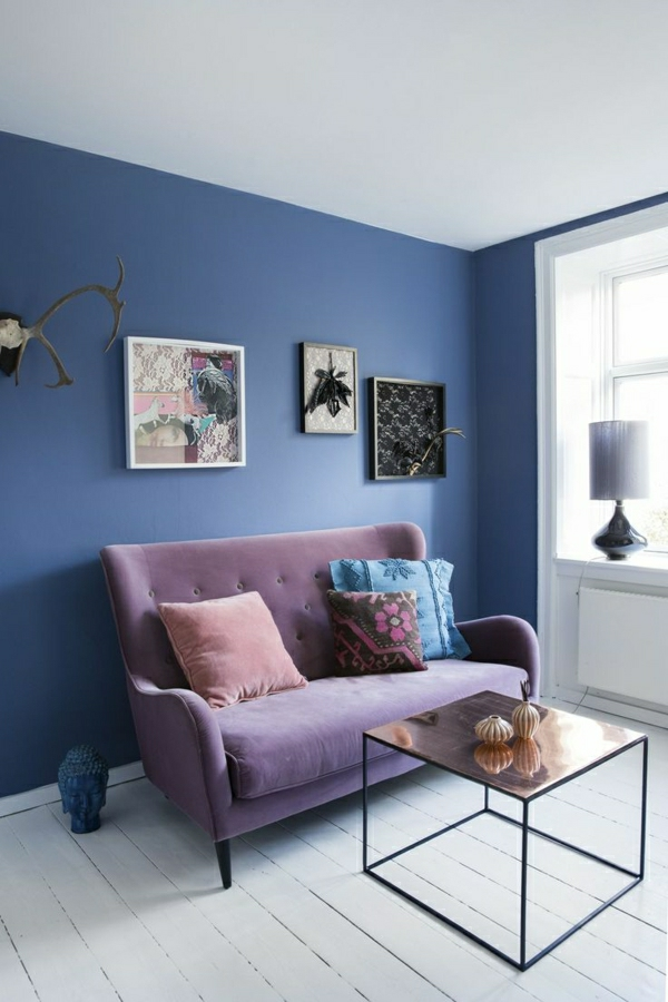 Wandfarben Bilder  40 inspirierende Beispiele