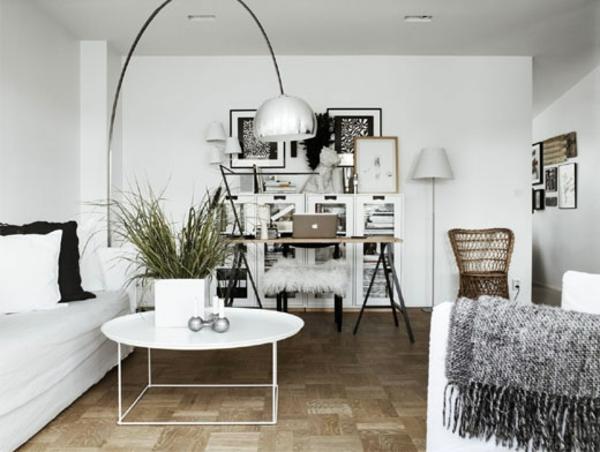 Skandinavische Wohnzimmer Einrichtungstipps Und Ideen - Planbois Wohnzimmer Weis Silber