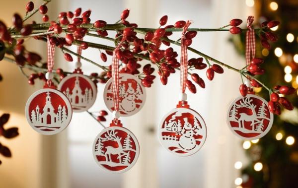 Bastelidee fr Weihnachten  Moderne Weihnachtsdeko