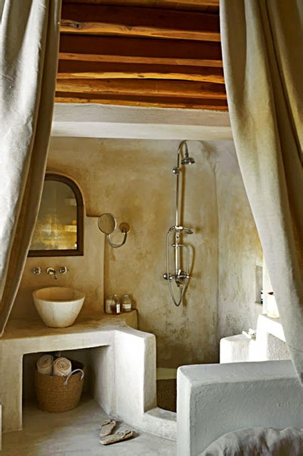 Badezimmergestaltung  wie Sie Ihr Bad im mediterranen Stil gestalten