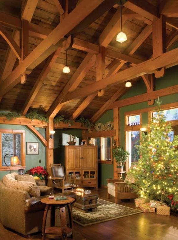 Das Wohnzimmer rustikal einrichten  ist der Landhausstil angesagt