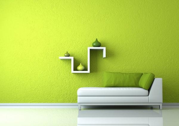 Farbideen Wohnzimmer  Vorteile der blauen und grnen Farbtne