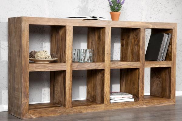 Holzregal bauen oder einfach kaufen  verschiedene