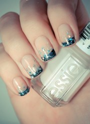 """nail art design zum thema """"meer"""""""
