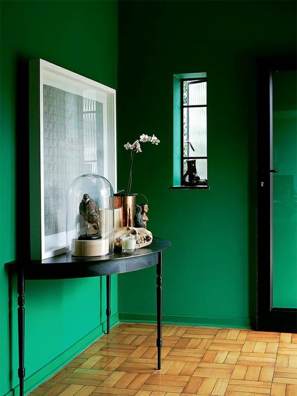 wohnzimmer grun schwarz - cuisinebois