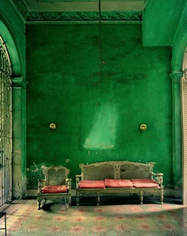 60 frische Farbideen fr Wandfarbe in Grn
