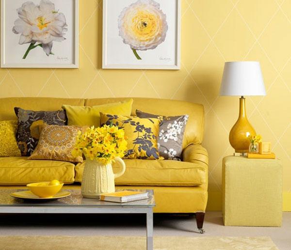 wohnzimmer ideen mit gelb eine tolle ausstrahlung - boisholz - Wohnideen Wohnzimmer Gelb