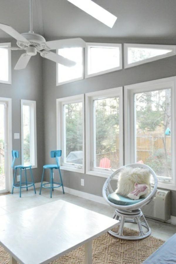 Wohnzimmer Farben Streifen  Wohndesign