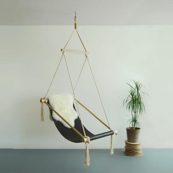 Hngematte selber machen  Stck mit Holz Gestell oder Stnder