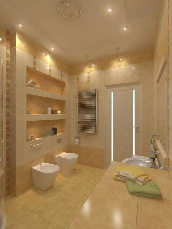 Badezimmerlampen  praktische Tipps und Ideen fr Ihre Badbeleuchtung