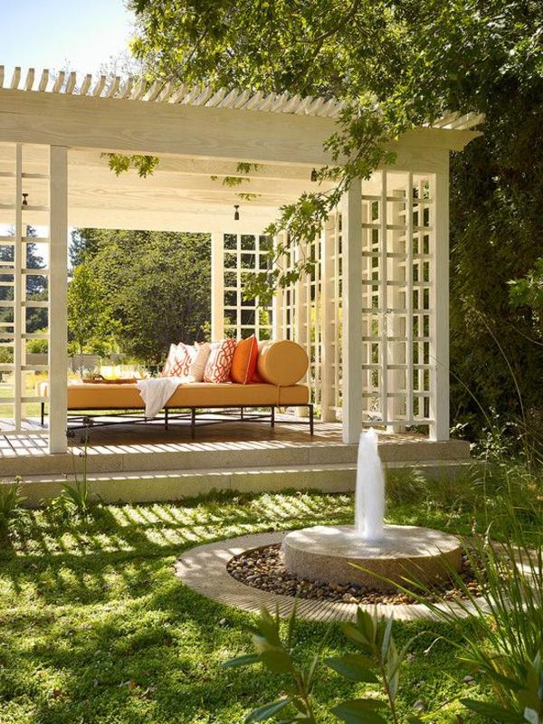 Der Gartenpavillon  Luxus oder Selbstverstndlichkeit