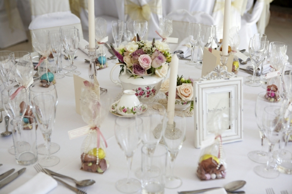 Hochzeitstischdeko  stillvolle Beispiele fr Ihren groen Tag