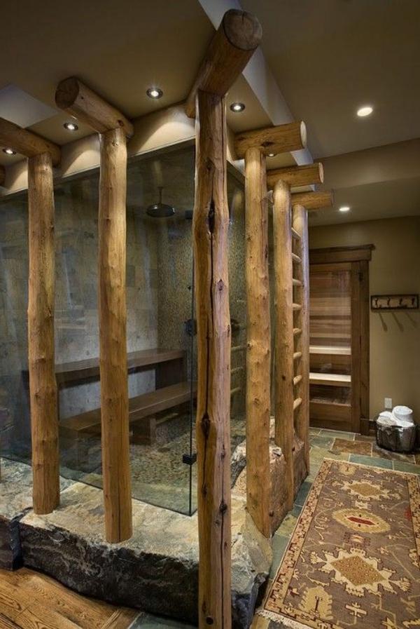 Krper entgiften  die Vorteile der Sauna und des Dampfbades